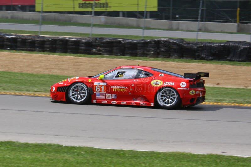F458 de raceauto van Italië royalty-vrije stock foto's