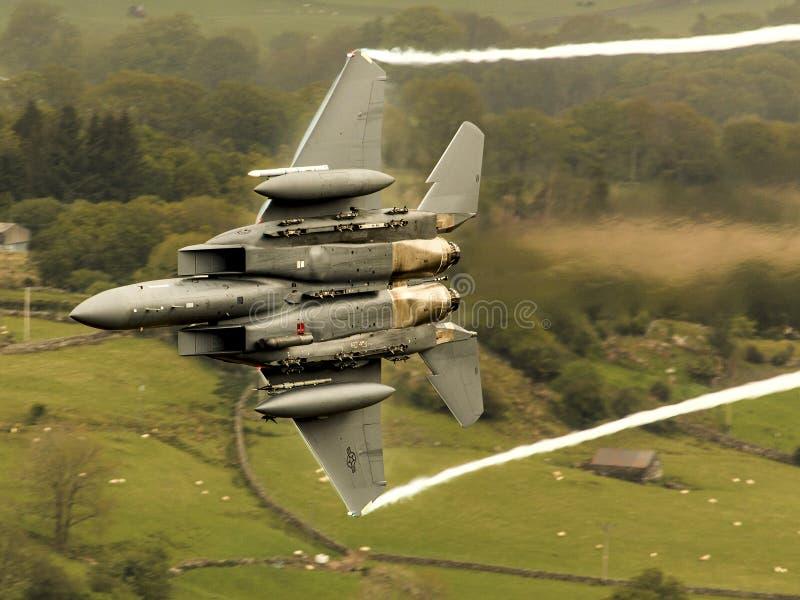 F15E - 老鹰 库存照片