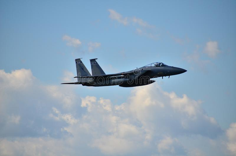 F15-Eagle stockfotos