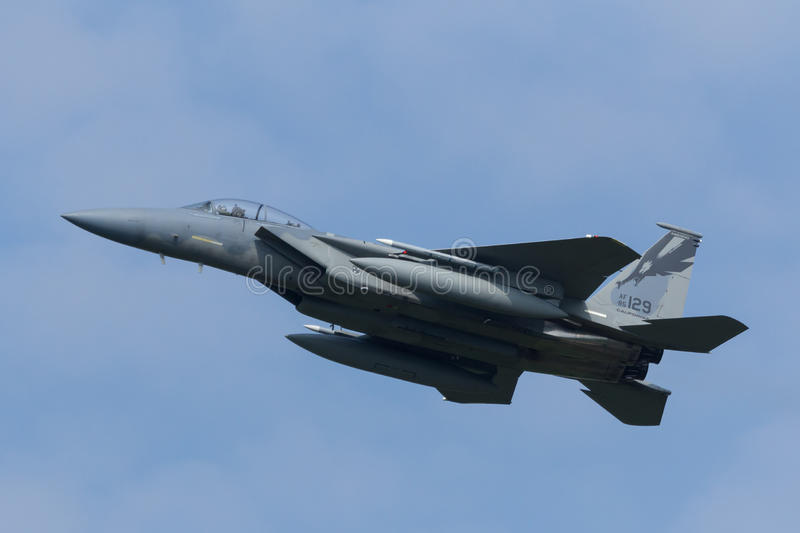 F-15 Eagle royalty free stock images