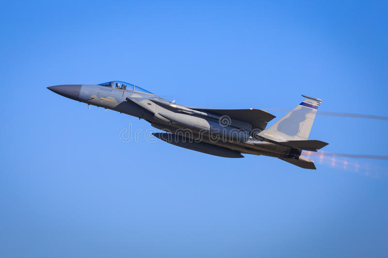 F15 fighter jet royalty free stock image