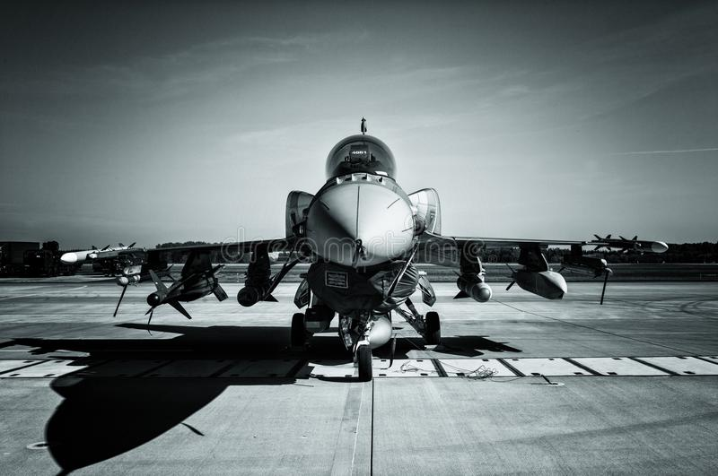 F-16 Fighting Falcon royalty free stock image