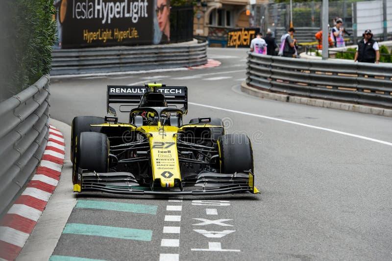 F1, 2019, généraliste du Monaco, FP2 images stock