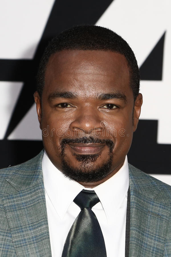 F. Gary Gray. NEW YORK-APR 8: Director F. Gary Gray attends the premiere of `The Fate of the Furious` at Radio City Music Hall on April 8, 2017 in New York City stock image
