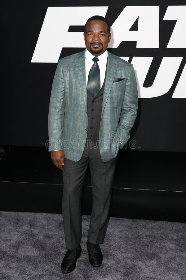 F. Gary Gray. NEW YORK-APR 8: Director F. Gary Gray attends the premiere of `The Fate of the Furious` at Radio City Music Hall on April 8, 2017 in New York City stock photo