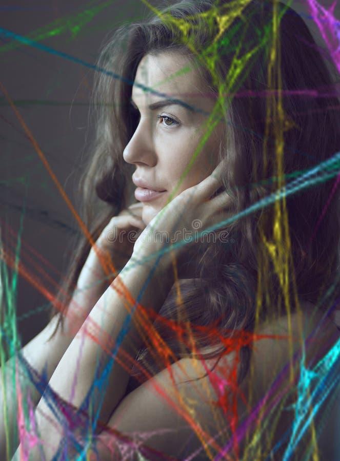 F?gen Sie das Leben einer wenig Farbe hinzu lizenzfreies stockfoto