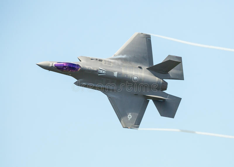 F35 jet royalty free stock image