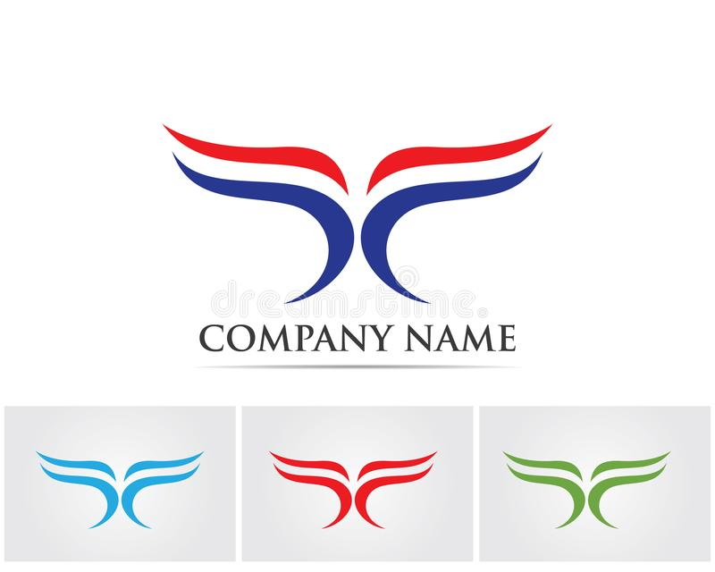 F letter logo and symbols template vector icons.. stock illustration
