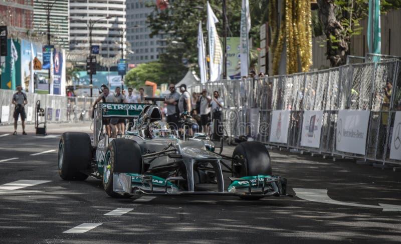F1 LEWIS HAMILTON fotos de stock royalty free