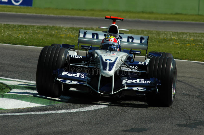 F1 2005 - Mark Webber royaltyfria bilder