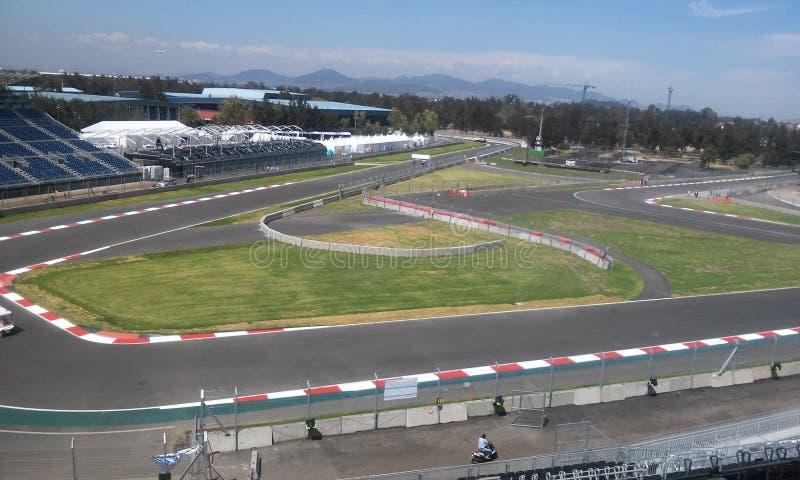 F1 Mexico royalty-vrije stock foto's