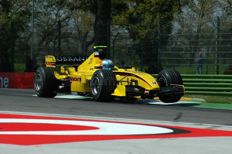 F1 2005 - Narain Karthikeyan fotografia royalty free
