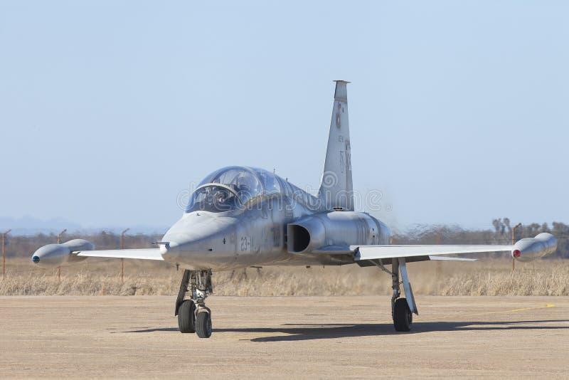 F5 Northrop wojownik w Hiszpania fotografia royalty free
