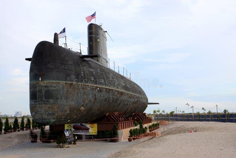 för malaysianmarin för agusta 70 ubåt för kunglig person royaltyfri foto