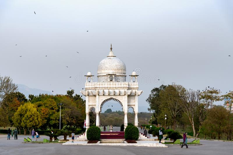 F9 parc Islamabad photos stock