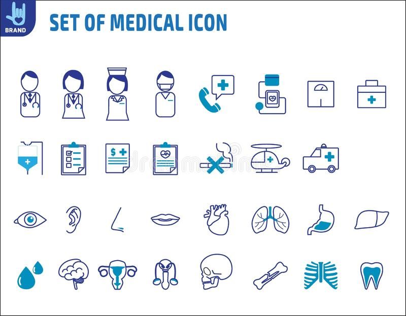 F?r best?ndsdeldesign f?r v?rd- medicinsk vektor infographic illustration vektor illustrationer