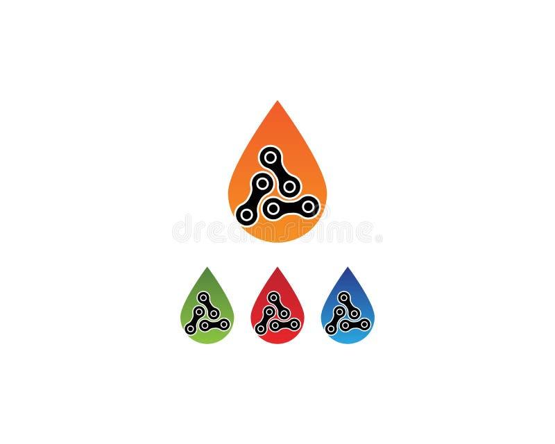 F?r enhetvektor f?r aff?r f?retags abstrakt logo royaltyfri illustrationer