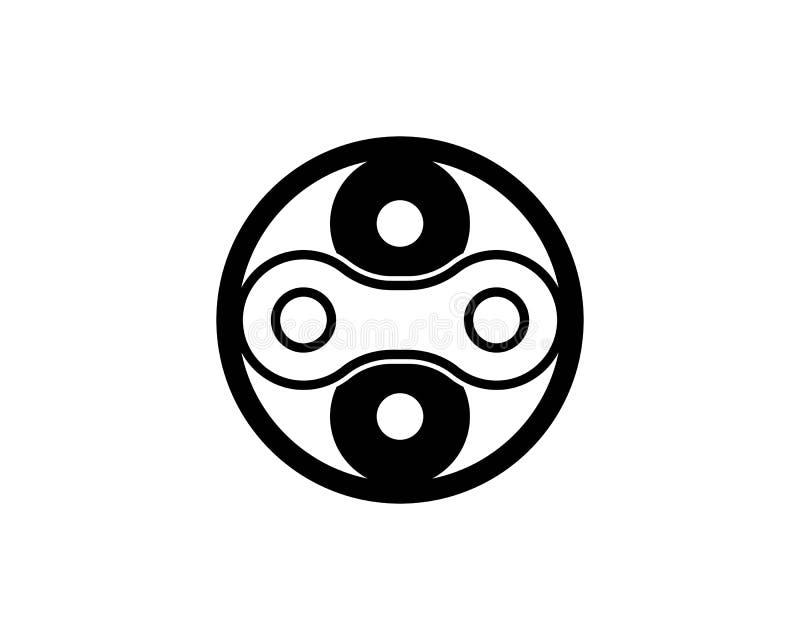 F?r enhetvektor f?r aff?r f?retags abstrakt logo stock illustrationer