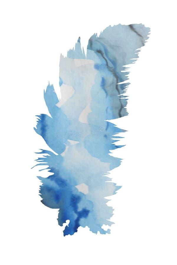 f?r flygillustration f?r n?bb dekorativ bild dess paper stycksvalavattenf?rg E royaltyfri illustrationer
