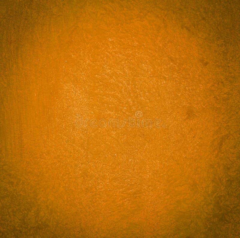 F?r m?larf?rgv?gg f?r korn orange bakgrund eller textur arkivfoton