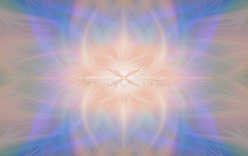 F?r modellkonst f?r kalejdoskop geometrisk illustration blurriness royaltyfri illustrationer