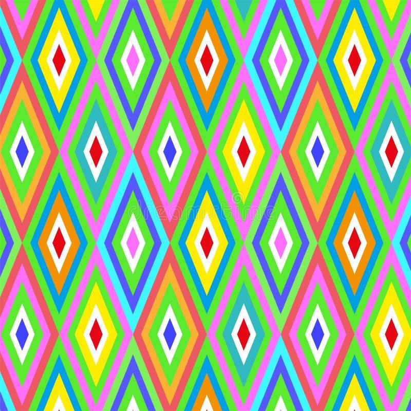 F?r rombf?rg f?r s?ml?s vektor geometrisk bakgrund f?r modell vektor illustrationer