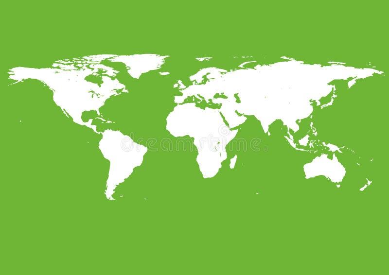 F?r Sie Auslegung Grüne Farbe, sehr hohe Detailillustration stockfotografie