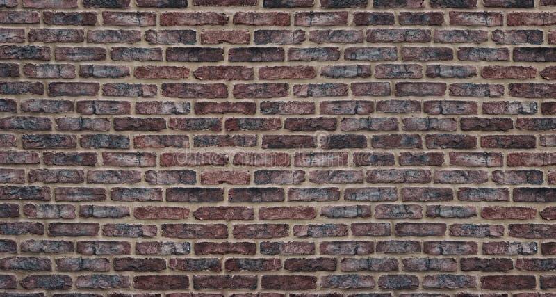 f?r uppl?sningstextur f?r tegelsten h?g r?d v?gg Retro bakgrund för grovt murverk arkivbild