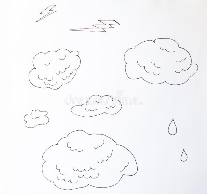 F?rdunklar linjen konstsymbol Lagringsl?sningsbest?ndsdel, databaser, n?tverkande, programvarubild linje konstillustration som is royaltyfri illustrationer
