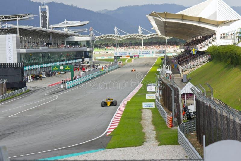 F1 RedBull-Team stock afbeelding