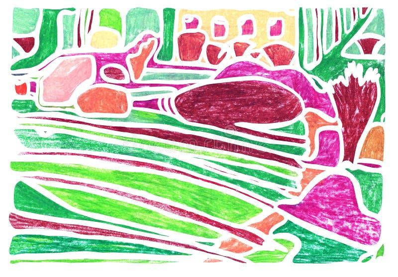 f?rgrik abstrakt bakgrund arkivbild