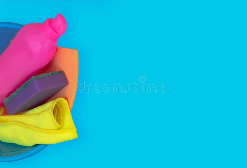 F?rgrik reng?rande upps?ttning f?r olika yttersidor i k?k, badrum och andra rum arkivfoton