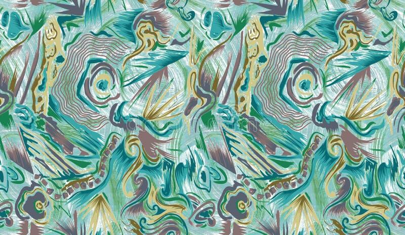 f?rgrikt seamless f?r abstrakt bakgrund vektor illustrationer
