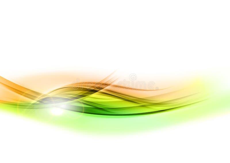 Fôrmas de brilho verdes ilustração royalty free