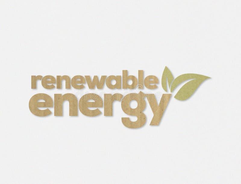 f?rnybar energi royaltyfri illustrationer