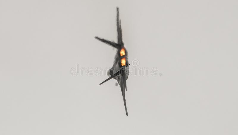 F22 Roofvogel stock foto