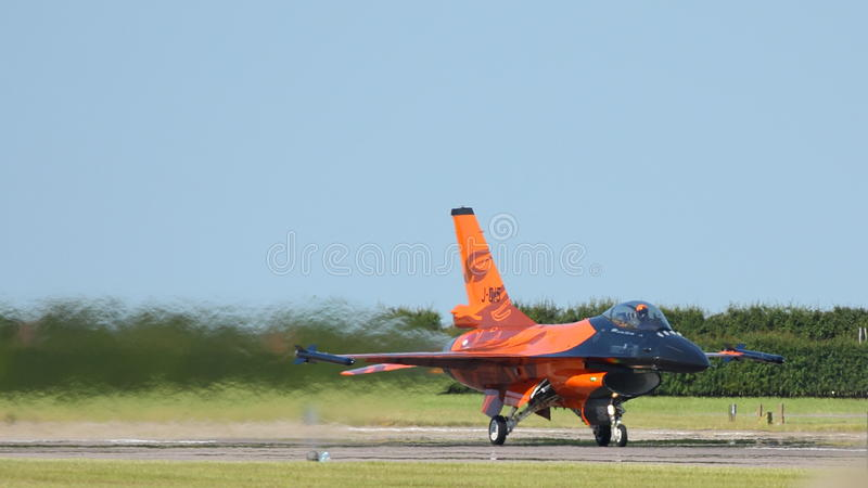 Military F16's takeoff editorial stock image  Image of airshow