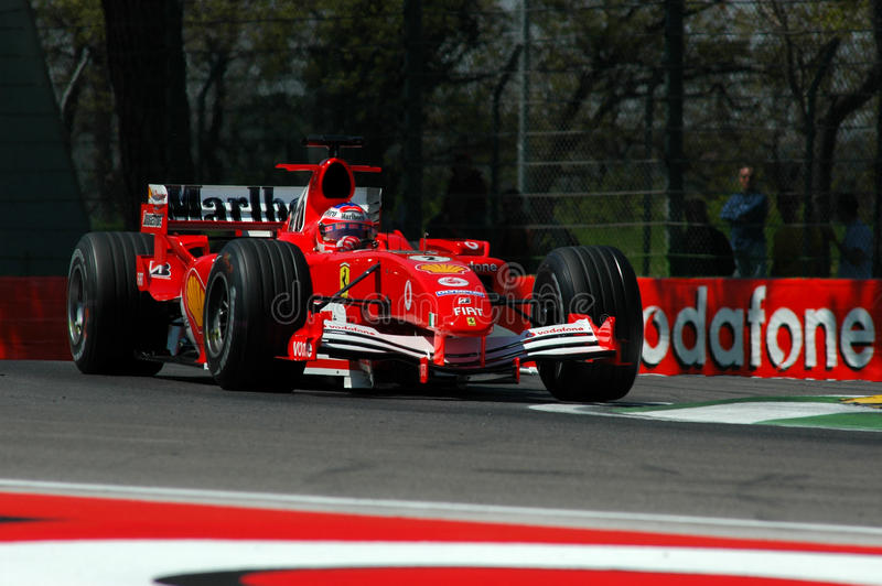 F1 2005 - Rubens Barrichello Ferrari photos libres de droits