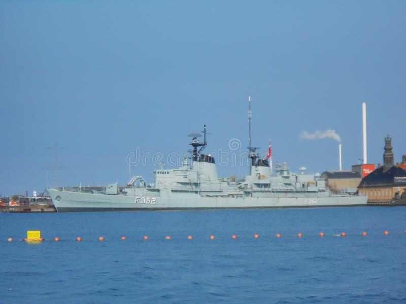 F352 schip stock foto