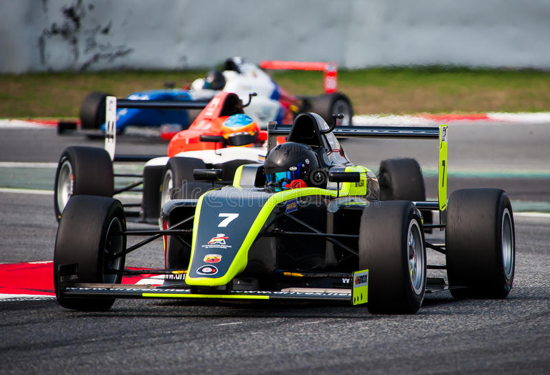 F4 SPANISH CHAMPIONSHIP stock photo