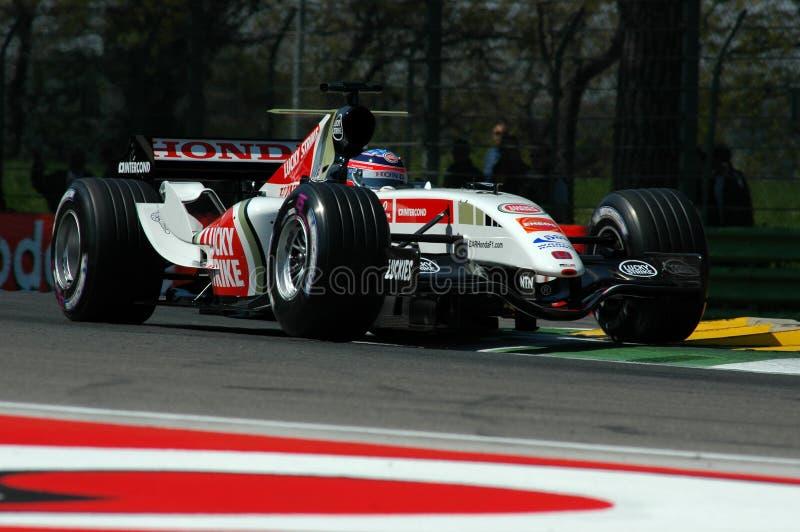 F1 2005 - Takuma Sato fotografia de stock royalty free