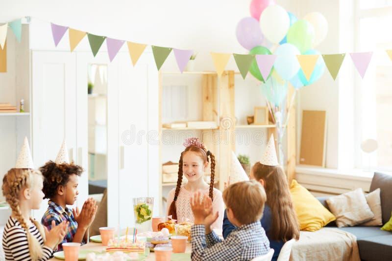 F?te d'anniversaire pour des enfants photo stock