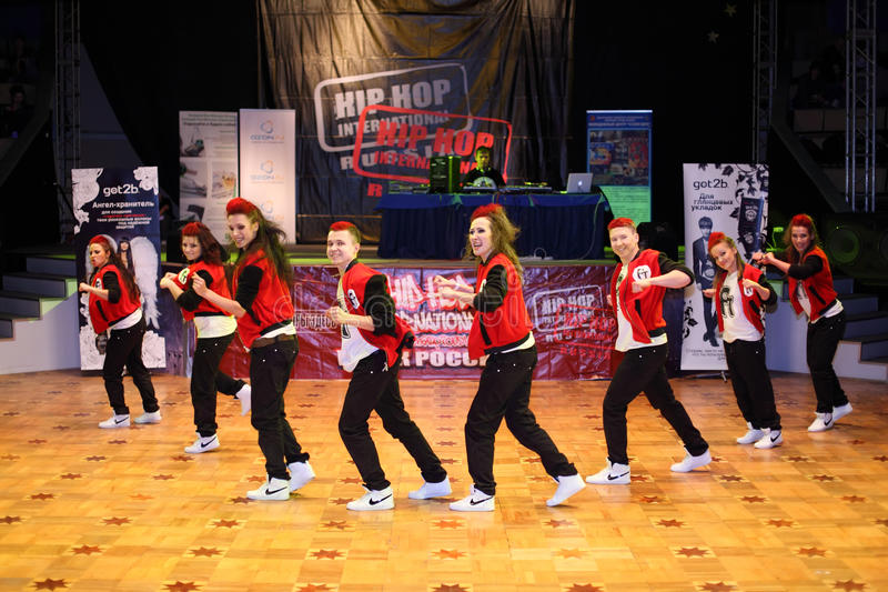 Download F-team Group Dance At Hip Hop International Cup Editorial Stock Photo - Image: 24227243
