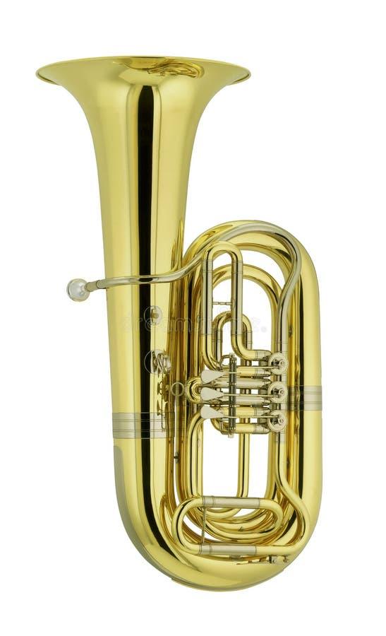 Download F-tuba arkivfoto. Bild av metall, musik, musikal, instrument - 29826