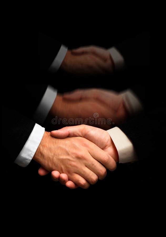 f uścisku dłoni specjalnego x zdjęcie stock