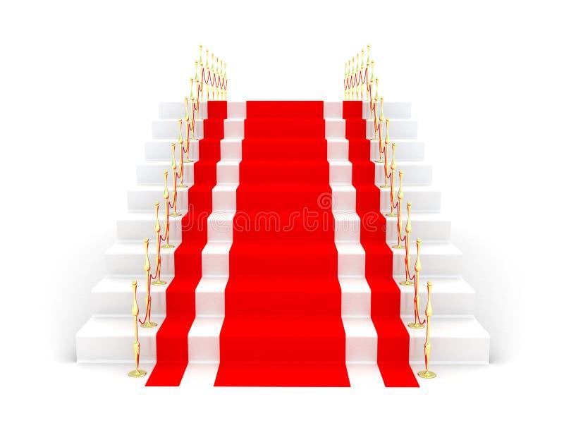 F5uhrende Treppen vektor abbildung