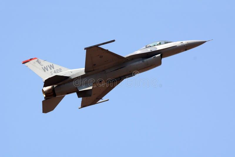 F-16 USA siły powietrzne zdjęcia stock