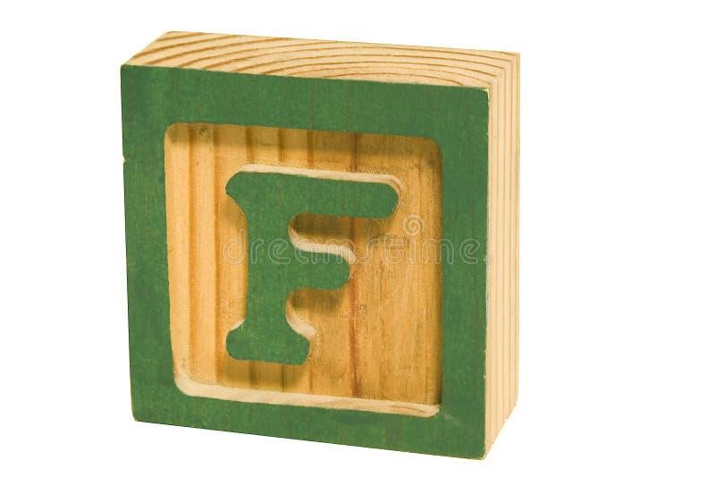 F verde imagens de stock royalty free