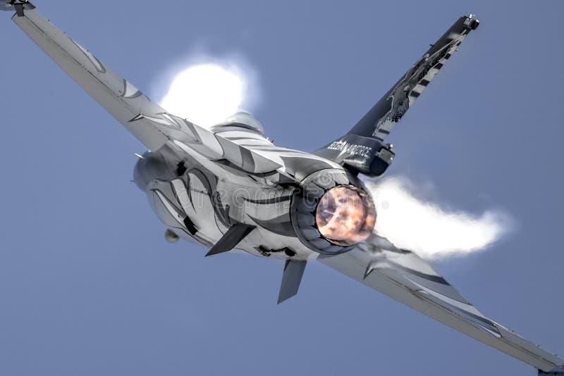 F-16 Walczący jastrząbek III zdjęcie royalty free