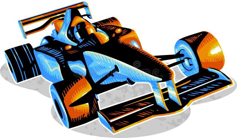 F1 ilustração royalty free